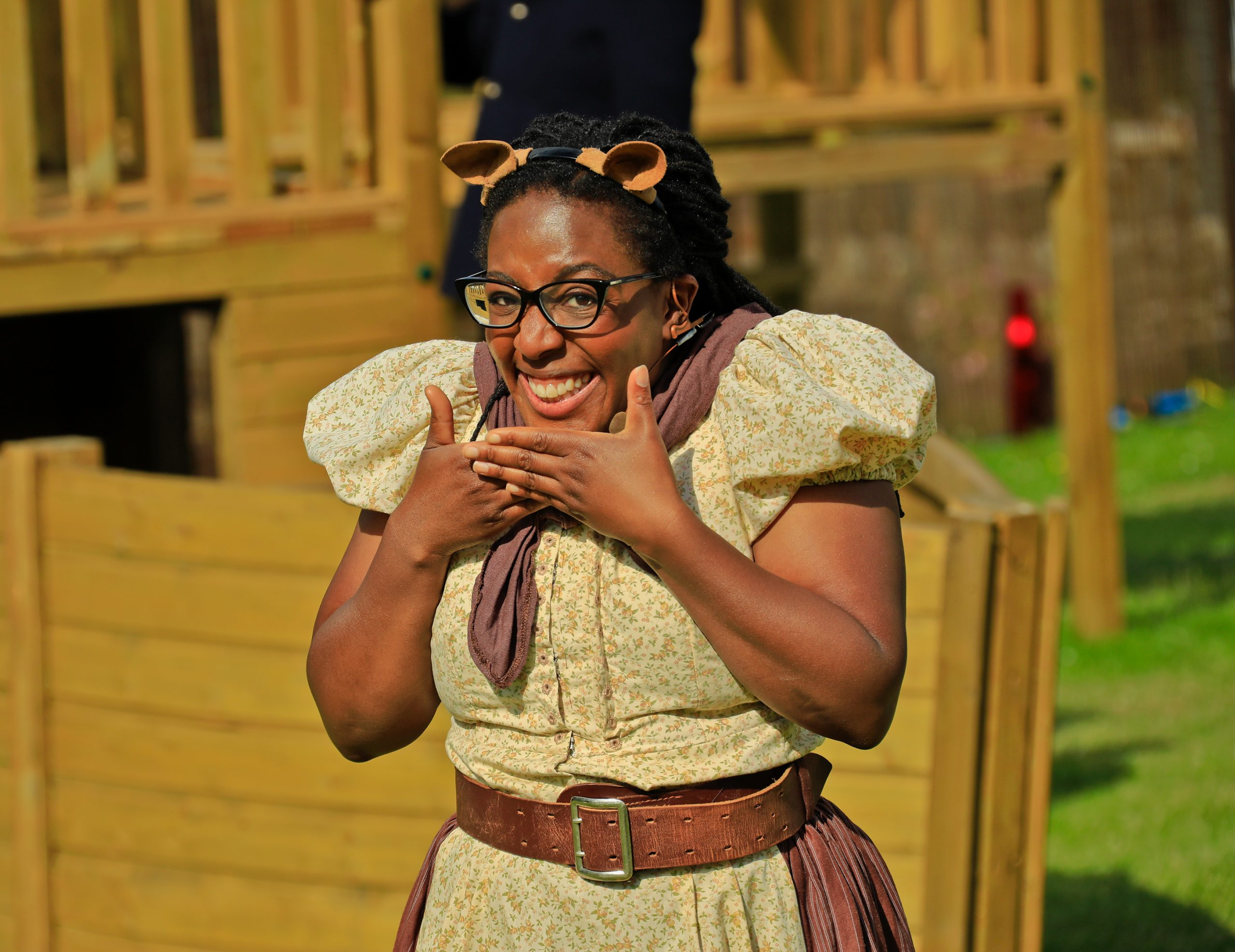 Alicia McKenzie as Mole in Wind in the Willows